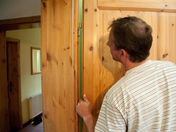 Зазор в двери