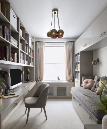 Как обставить длинную и узкую комнату