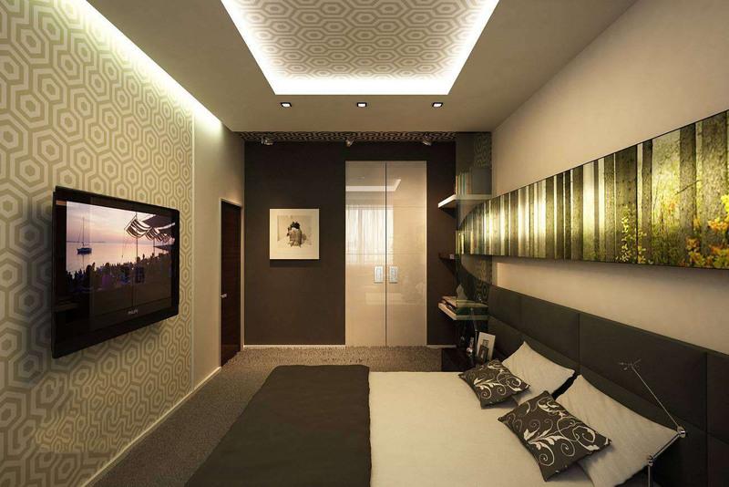 Дизайн длинной и узкой комнаты: рекомендации