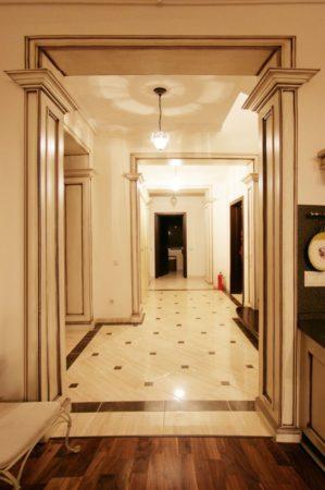 Оформление коридорного проёма