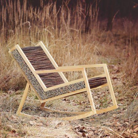 Кресло из веток