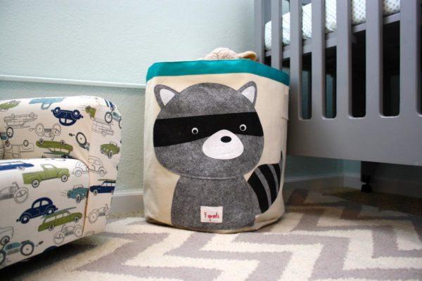 Корзина-мешок для хранения игрушек