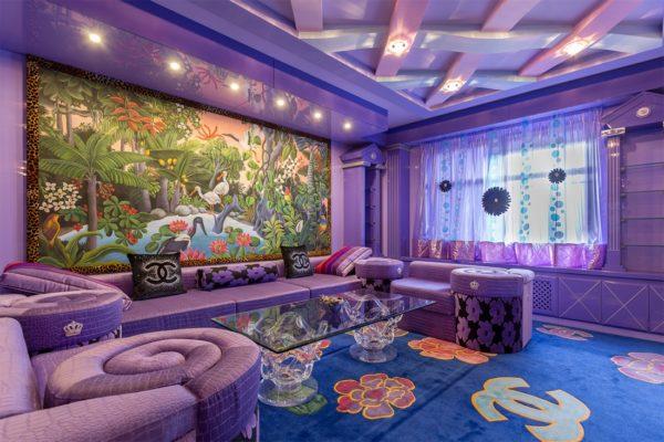 Смешение разных стилей при оформлении комнаты