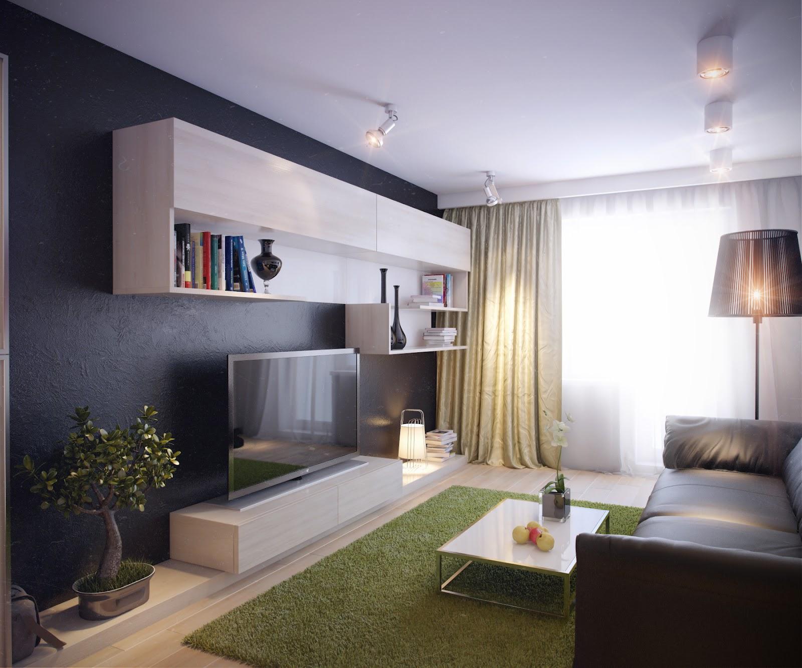 Фото однокомнатных квартир с красивым ремонтом