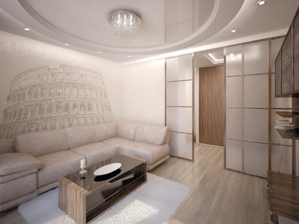 Одна стена меняет вид всей комнаты