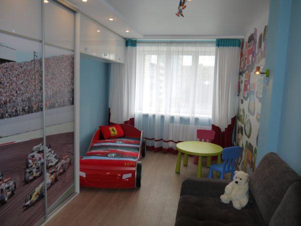 Бюджетный ремонт детской комнаты