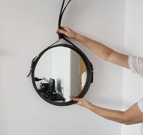 Подвесное зеркало на ремне