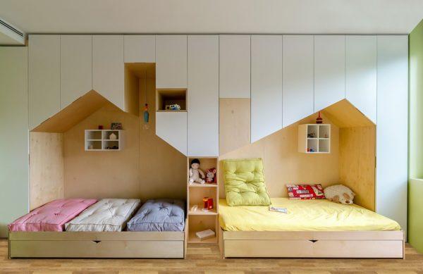 Спальные места в виде домиков