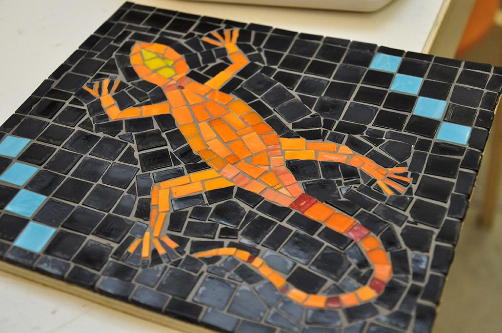 если картинки для мозаики из битой плитки фрикадельками едят только