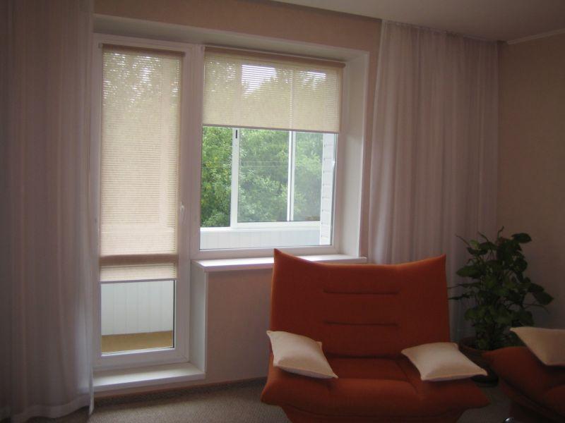 Мастер-класс по пошиву шторы на балконную дверь