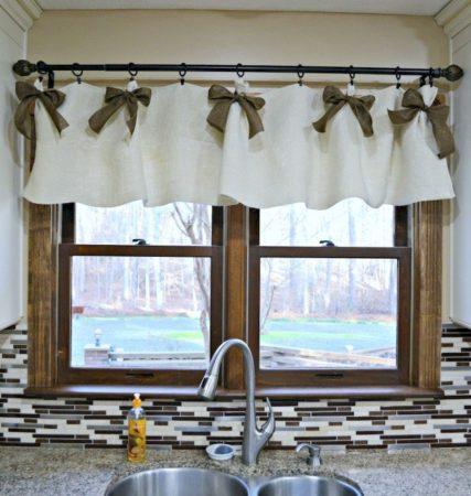 Занавески в деревенском стиле