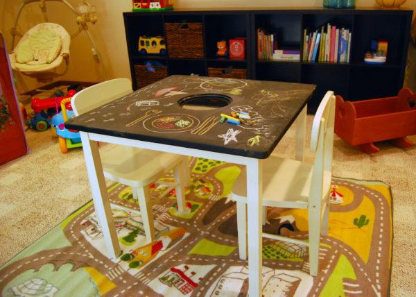 Детский столик для рисования