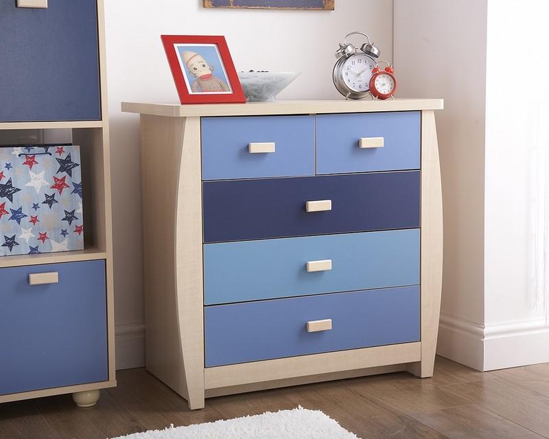 Фото комодов в детскую спальню: красивые решения для сына или дочки