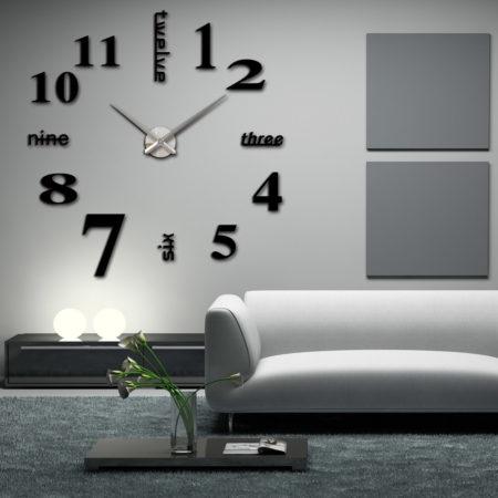 необычные настенные часы