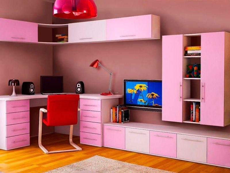 17 вариантов стенки для детской комнаты