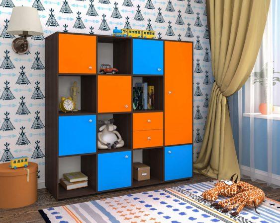 Стенка для детской комнаты