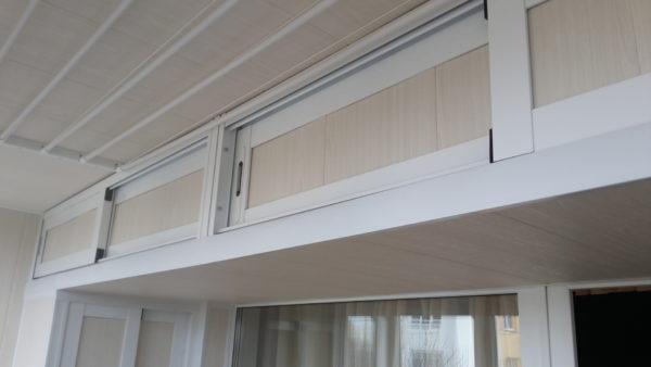 Потолочные системы хранения на балконе