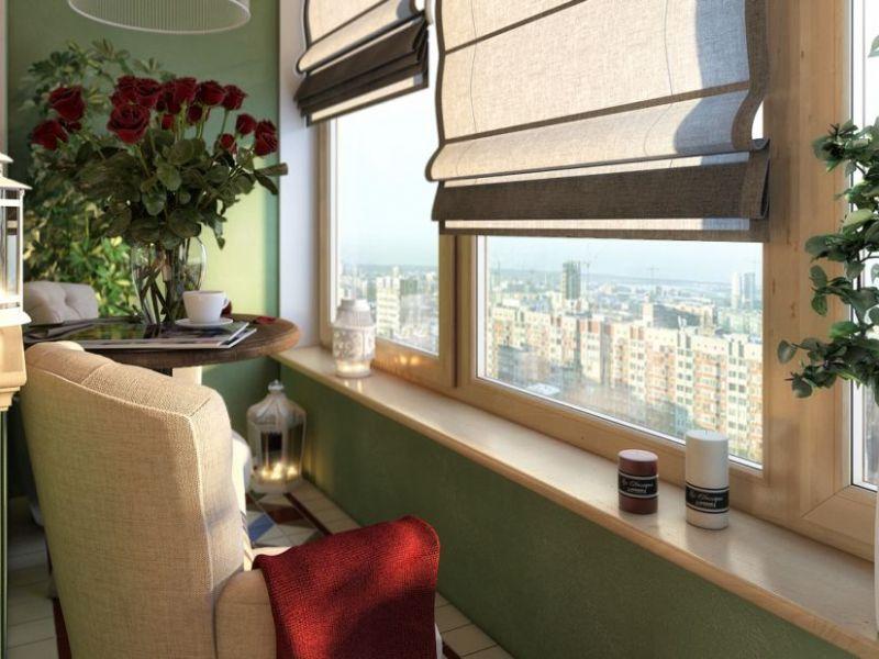 14 идей благоустройства узкого балкона
