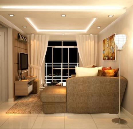 Потолочное освещение на низком потолке