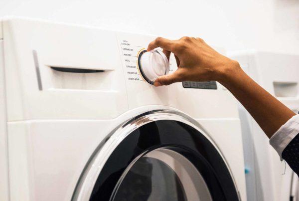 Запуск стиральной машинки