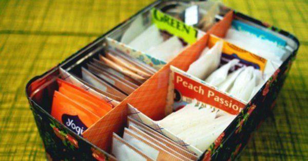 как хранить пакетики со специями