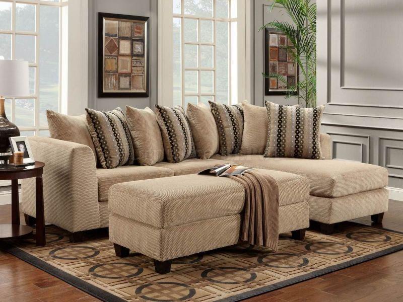 Подборка интерьеров с диванами песочного цвета (фото)