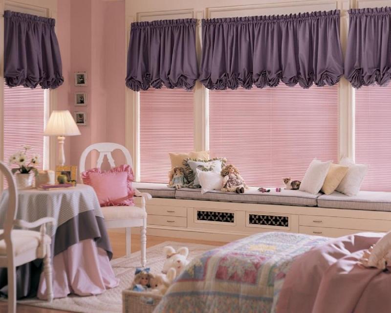 Жалюзи для детской комнаты: примеры оформления на фото