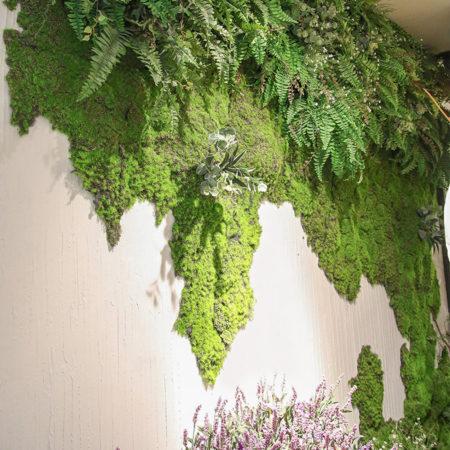 из чего сделать искусственный мох