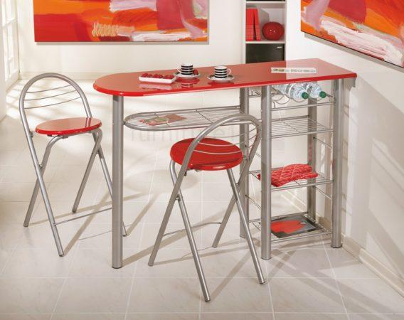 какой стол поставить на узкой кухне