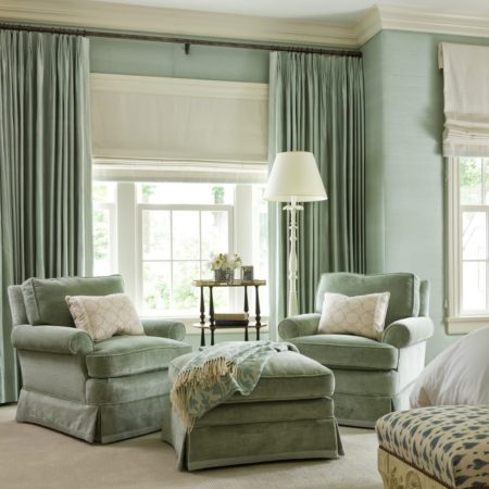 как сочетать шторы с мебелью