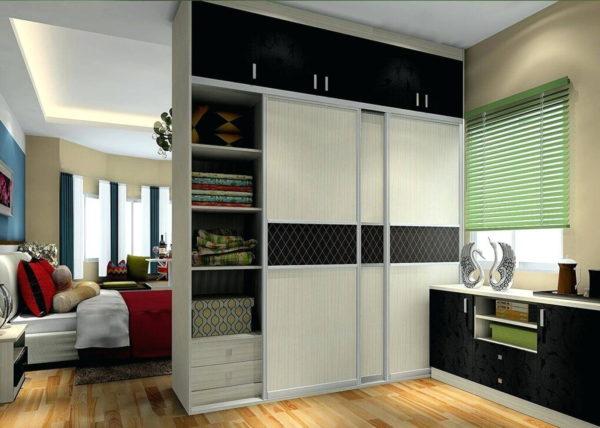 как поставить шкаф купе в однокомнатной квартире