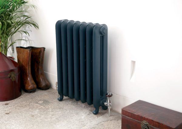 чугунные радиаторы в интерьере