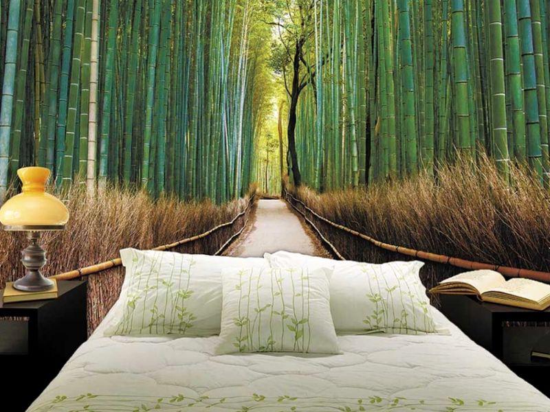 Успокаивающие обои для спальни: гармония и уют