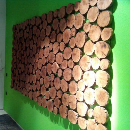 как дешево задекорировать стены