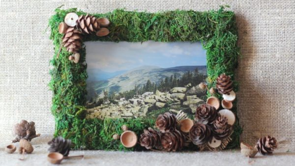 Поделки из лесных материалов