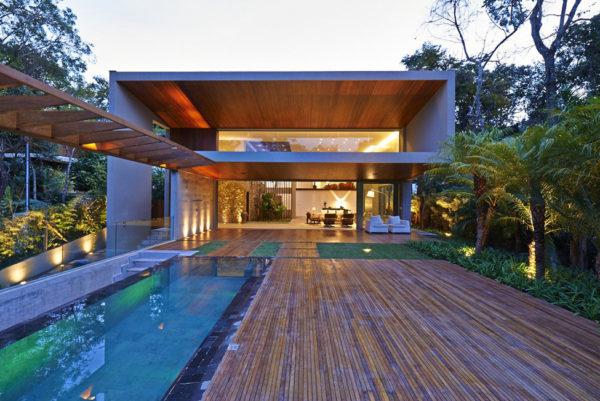 Экстерьер частного дома в Бразилии