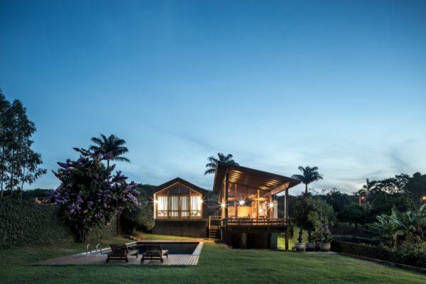 Вариант частного дома в Бразилии