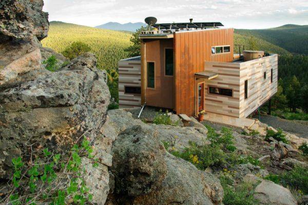 маленькие домики для постоянного проживания
