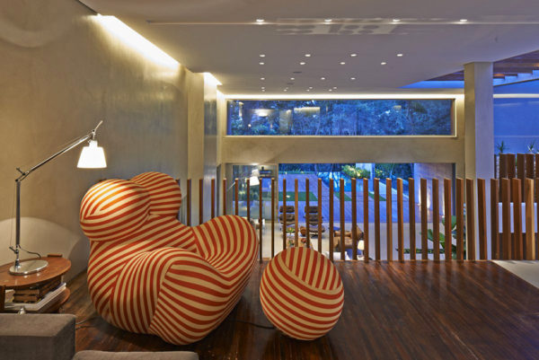 Интерьер частного дома в Бразилии