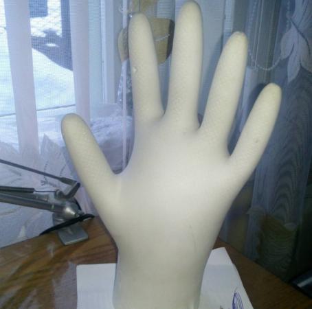 Самодельная подставка под бижутерию в виде руки