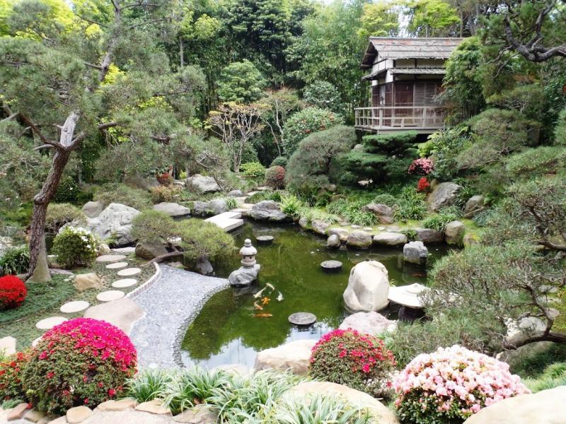 Японский ландшафтный дизайн: реальные фото